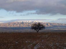 Jasné mrazivé ráno - příjezd do oblasti GÖREME