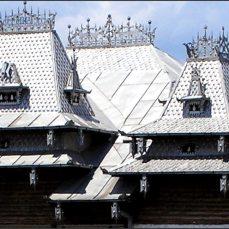 Detail střechy.
