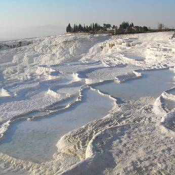 White terraces Pamukkale