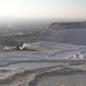 Pamukkale = Cotton Castle