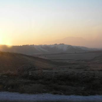 25th December morning on Pamukkale.