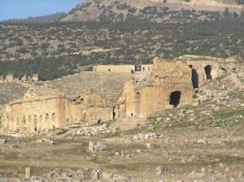 Hierapolis amphitheatre.