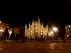 Il duomo Milano a notte