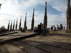Na střeše Il Duomo Milano