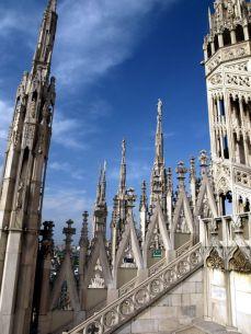 Na dotek, nebesa! Il Duomo Milano.