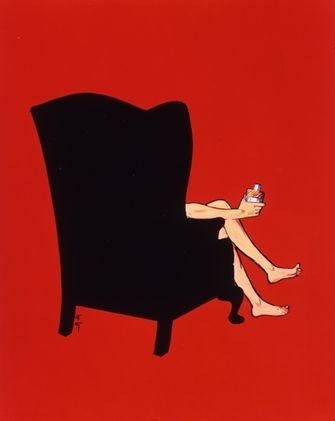 Ne, že by v sedmdesátých letech nebyli k vidění nazí muži v reklamě. Dior Eau Sauvage, 1978; autor: Rene Gruau