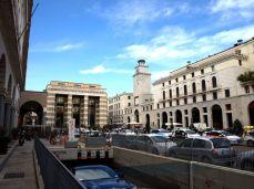 brescia Piazza della Vittoria romana granatova