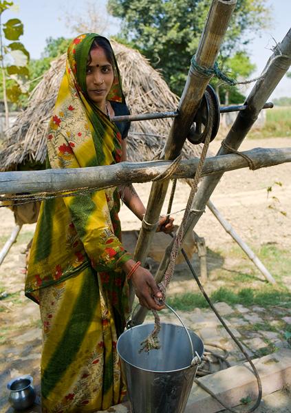 Uttar Pradesh, Indie. © Alain Gualina & Provence Santé