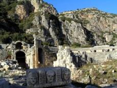 myra demre turkey santa claus tombs romana granatova