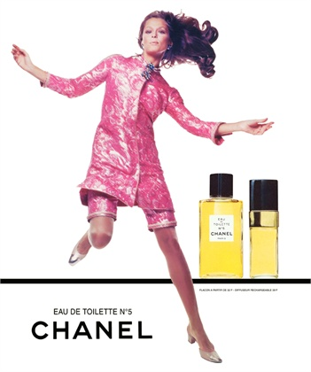 1968 lauren-hutton chanel No. 5 ric copia