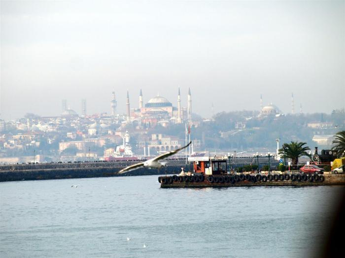 Je totiž úžasný pocit uvidět profil vznešeného Istanbulu tak, jak ho vídali námořníci už v době, kdy my jsme ještě neuměli česky.