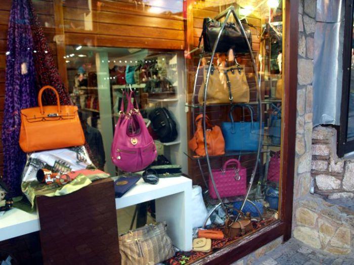 Multibrnad boutique v Ankaře: Hermés, Kors, dior, Tod´s, Vuitton v jedné výloze? Of cause!