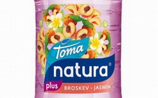 Toma Natura broskev a JASMÍN. Zdroj: http://ekonomika.idnes.cz/pepsi-stahuje-z-trhu-sarzi-ochucene-vody-toma-natura-plus-p3o-/ekonomika.aspx?c=A111120_132431_ekonomika_jav