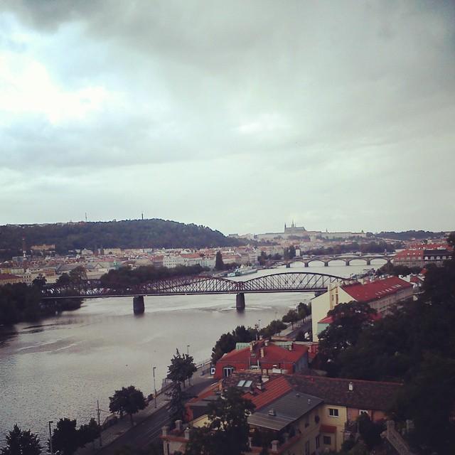 vysehrad praha vltava bridge river