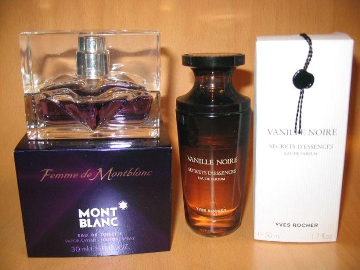 Posílám fotku mých nejoblíbenějších parfémů.