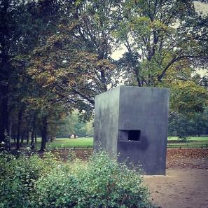 Memorial to Homosexuals persecuted under Nazism Berlin