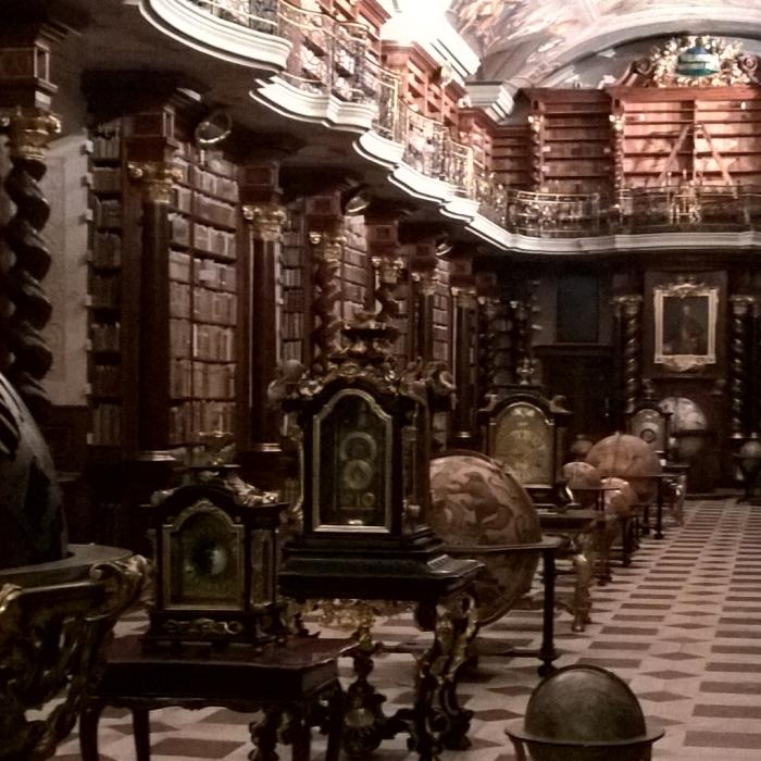 Klementinum - knihovna fundamentálních jezuitů