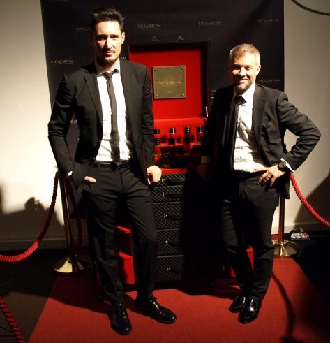 MASQUE MILANO, Riccardo Tedeschi a Alessandro Brun
